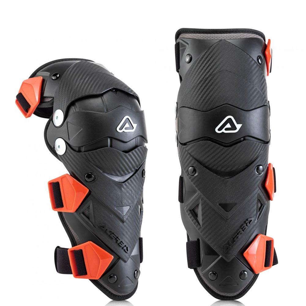 Acerbis Impact Evo Junior Knee Guards Black