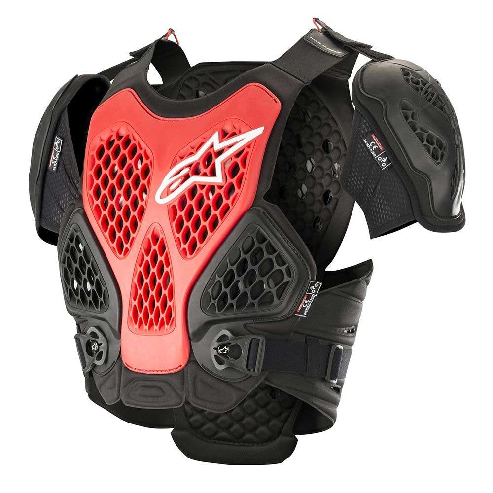 Alpinestars Bionic Brustschutz rot schwarz