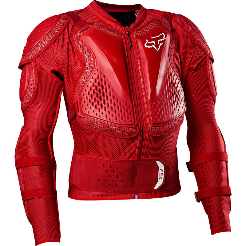 Pettorina Fox Titan Sport Rosso