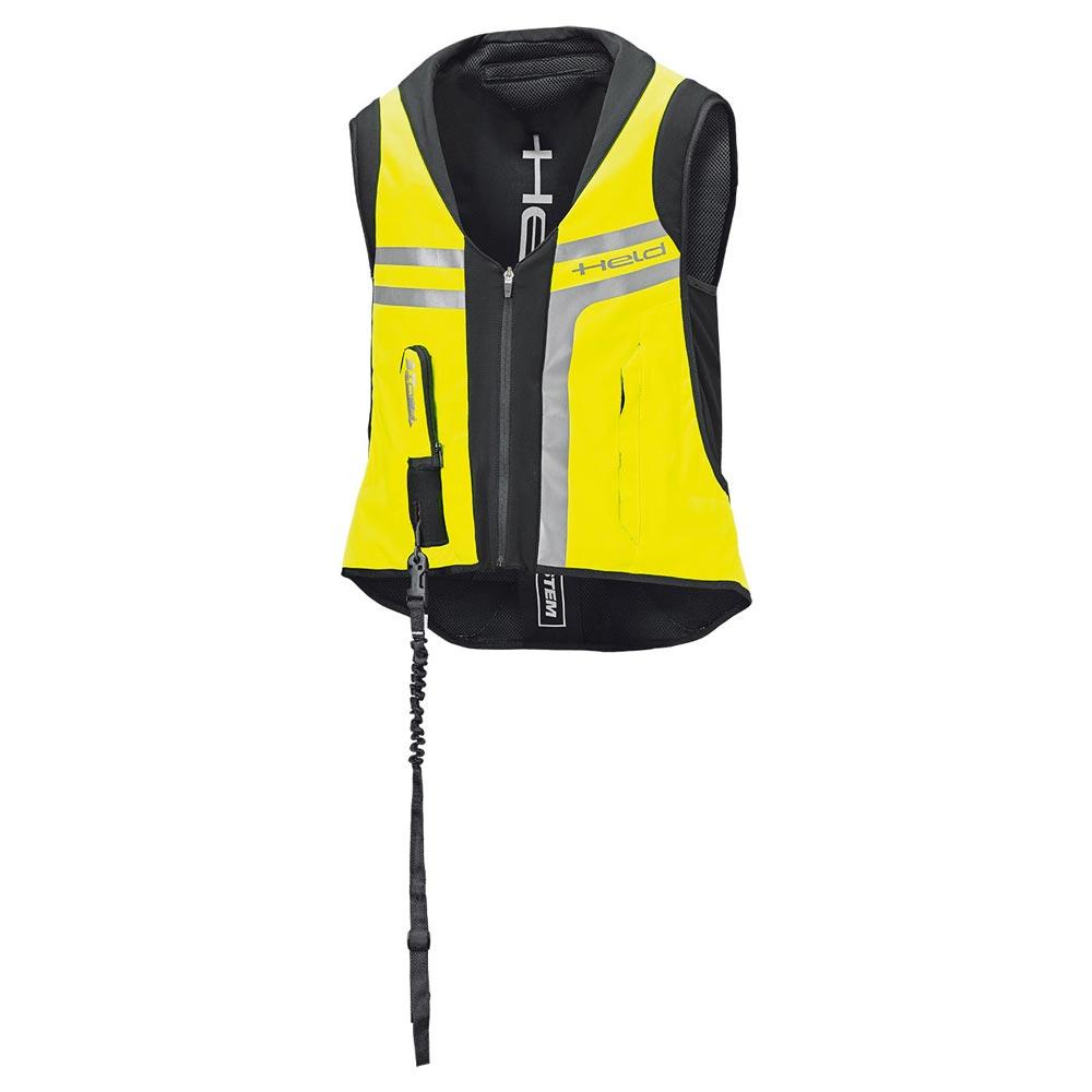 Held Aufblasbare Protektoren Air Vest 2 schwarz gelb
