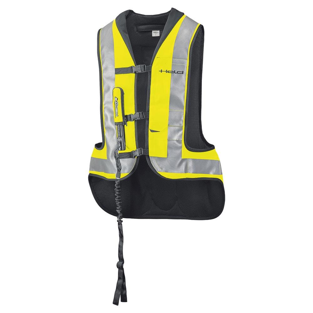 Held Aufblasbare Protektoren Weste Air Vest gelb