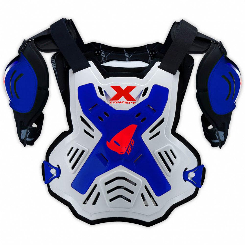 Ufo X-Concept Brustschutz mit Schultern Blau