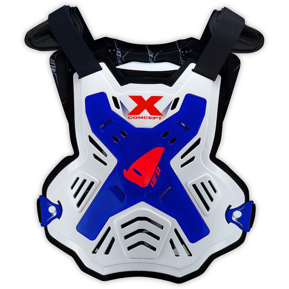Ufo X-Concept EVO Brustschutz ohne Schultern Blau