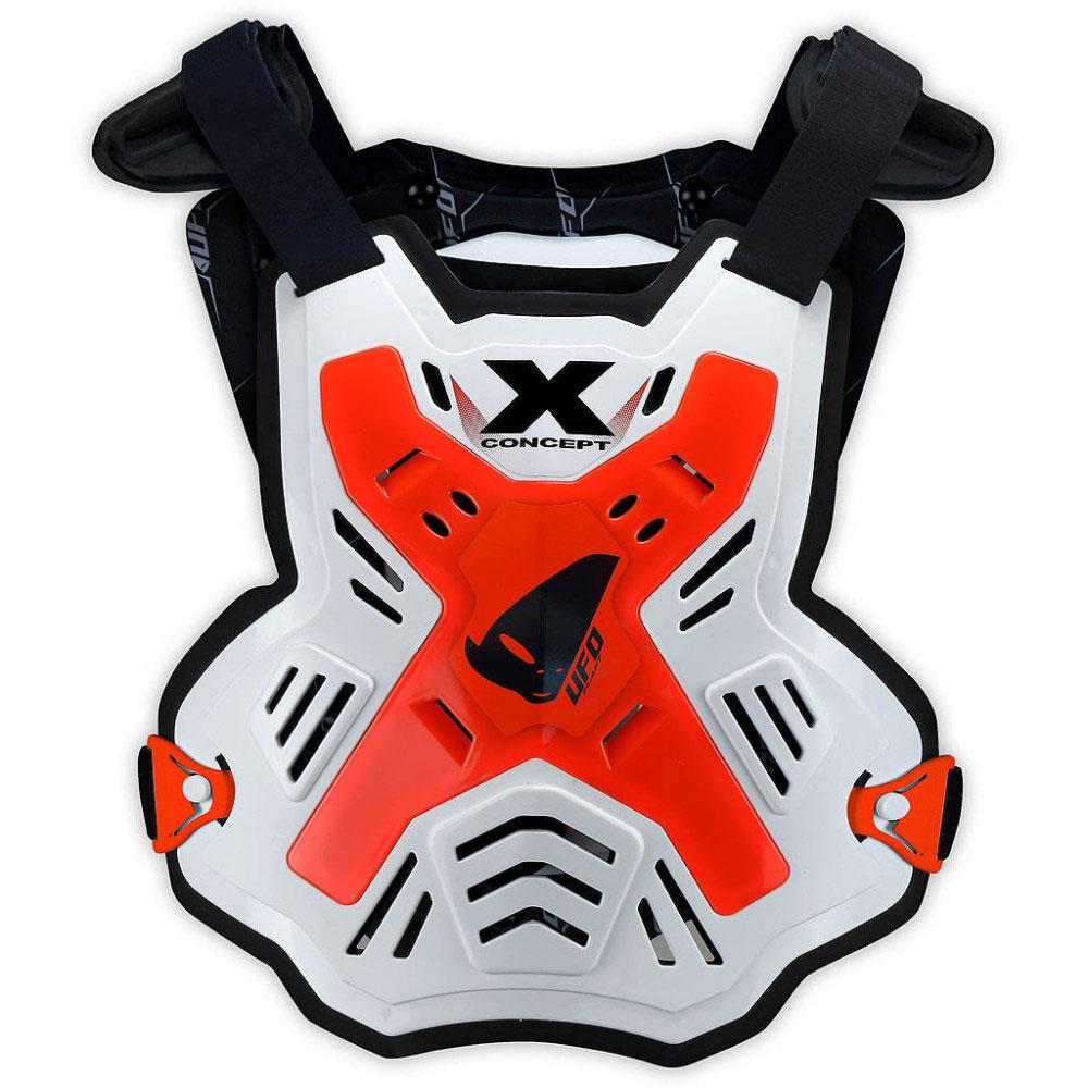 Ufo X-Concept EVO Brustschutz ohne Schultern Neon Rot