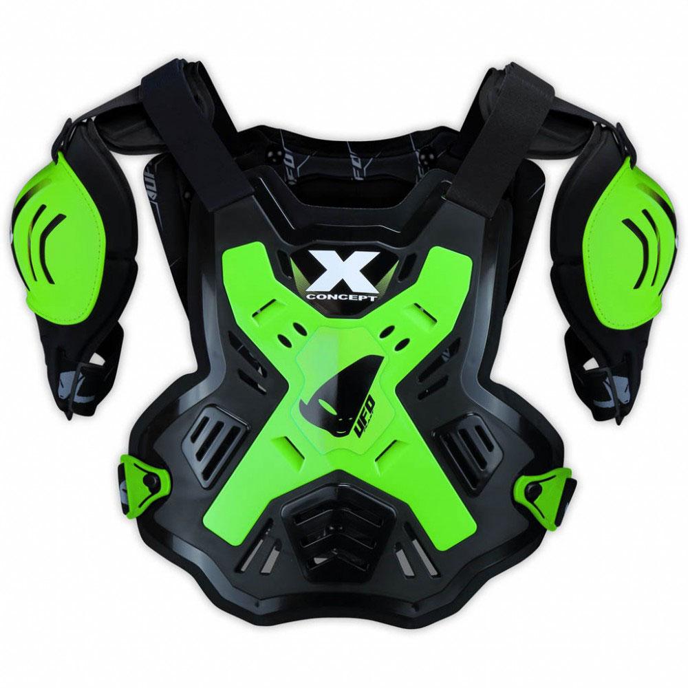 Ufo X-Concept Brustschutz mit Schultern Fluo Grün