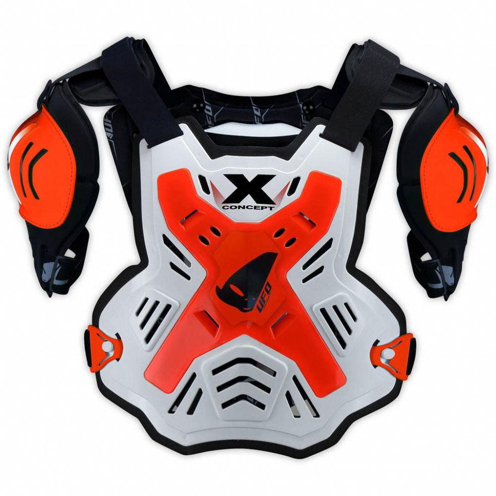 Ufo X-Concept Brustschutz mit Schultern Rot
