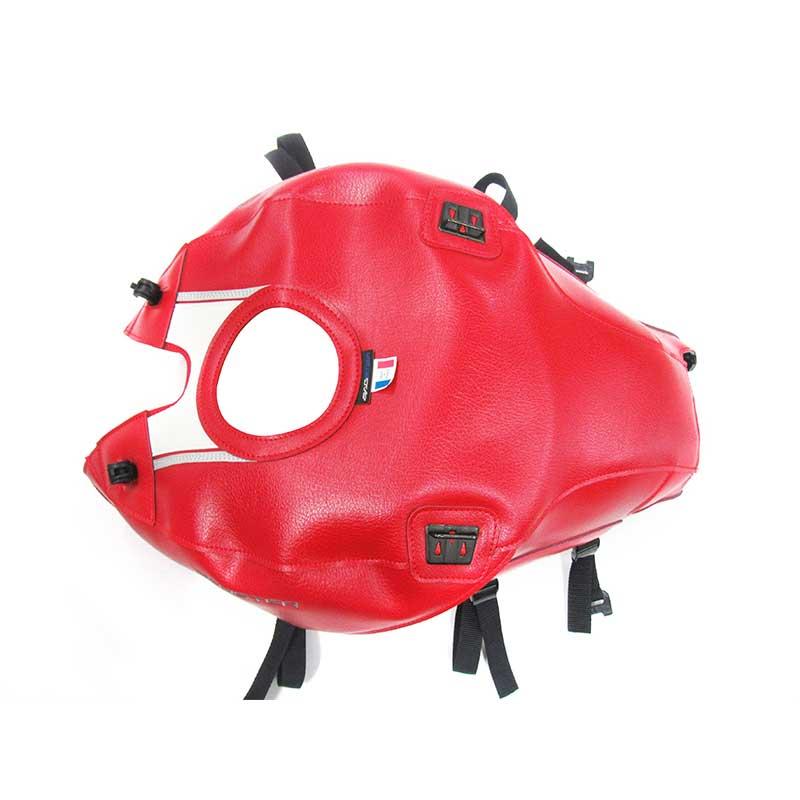 b0876bf547b Bagster Tank Cover 1666 Ducati Monster 1200 / 1200s / 821 rojo blanco