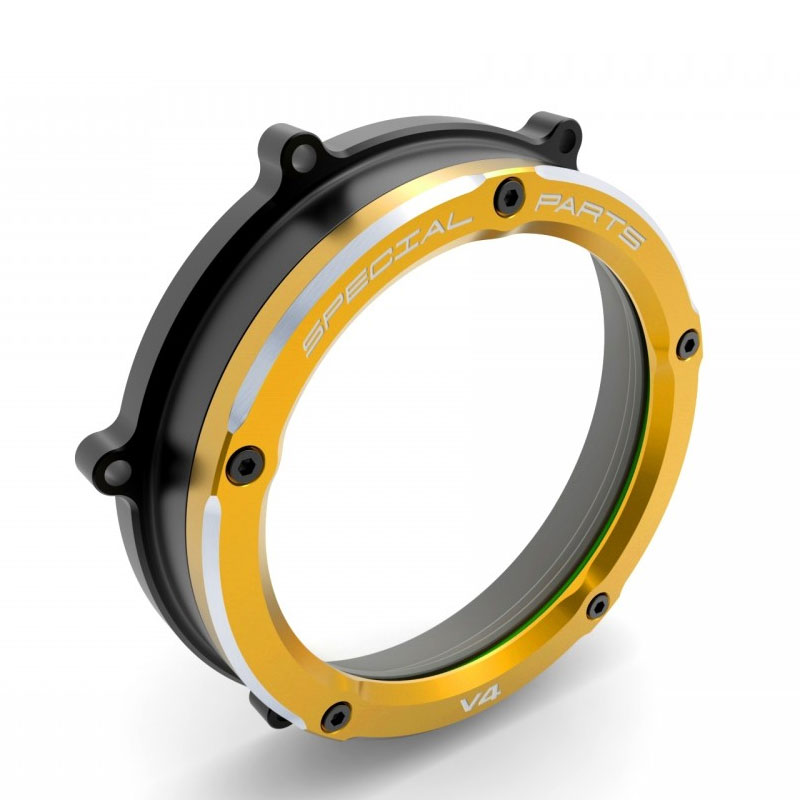 Clutch Cover Ducabike Panigale V4 Clear Gold