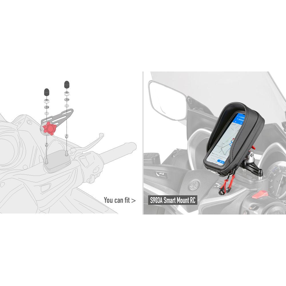 Kit Viteria Givi 03vkit Smart Mount Rc
