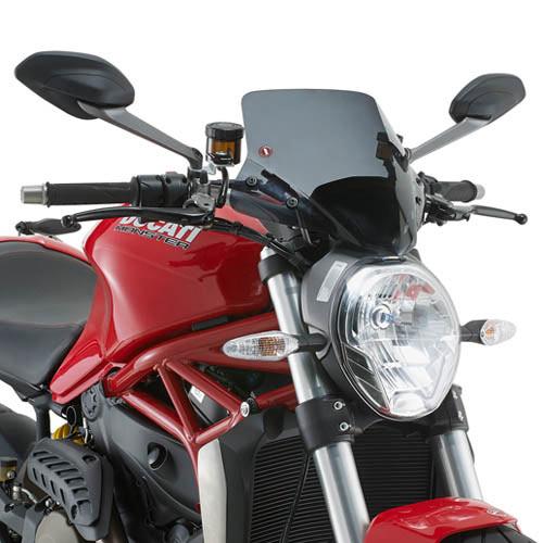 Givi Windscreen A7404 Smoke Ducati Monster 1200 (14> 15)