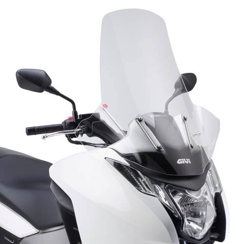Givi Windshield D1109st Transparent With Hand Guards