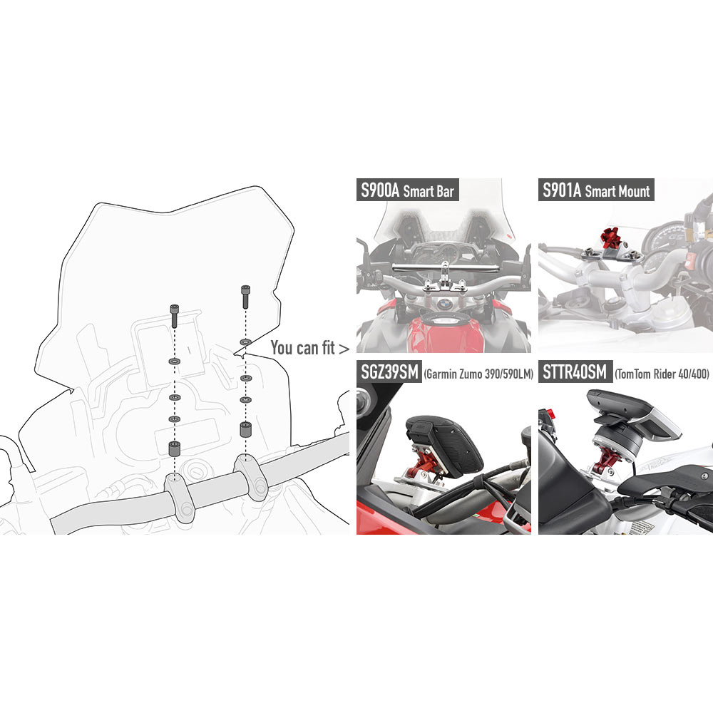 Givi Specific Screw Kit 05 Kit