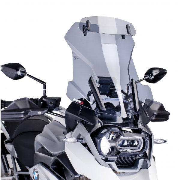 Puig Touring Windscreen With Visor Bmw R1200 Gs Adventure 2014 Light Tint