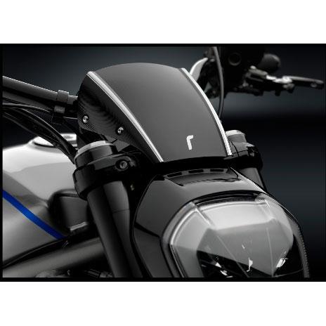 Rizoma Aluminum Low Headlight Fairing w/ Mounting Brackets