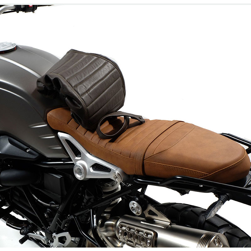 unit garage seat cover brown motostorm