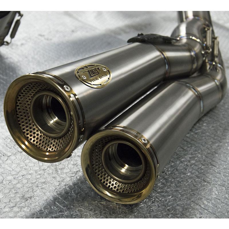 Zard Kit Completo 2>1>2 Full Titanio Racing Ducati Monster 1200