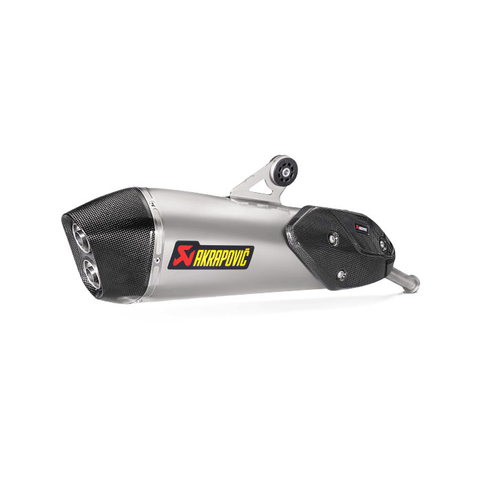 Akrapovic S-b6so8-hzaat Slip-on Titanio Bmw C650 Gt