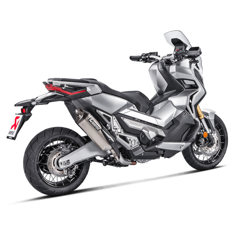 akrapovic slip on line titanium honda x adv motostorm. Black Bedroom Furniture Sets. Home Design Ideas