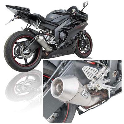 Zard Silencer Cone Approved Titanium Yamaha R6