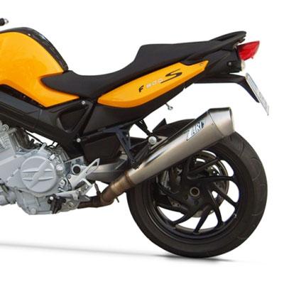 Zard Muffler Bmw F 800 S St Zbmw083ssr S Exhaust Motostorm