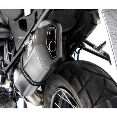 Zard Muffler Steel-aluminium Black Bmw R 1200 Gs 2004