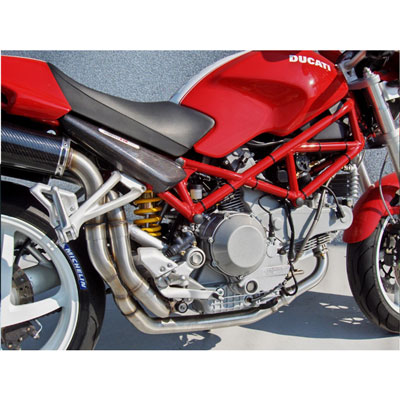 Zard Kit Collectors Steel Racing For High Zard Kit Exhaust V. Dx-sx Ducati Monster S4r