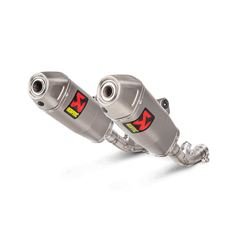 Akrapovic 2 Slip On Titan Racing CRF450R 2018