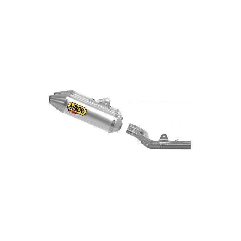 Arrow Terminale Off-road Thunder Alluminio Fondello Inox Honda Crf 450r 13/14