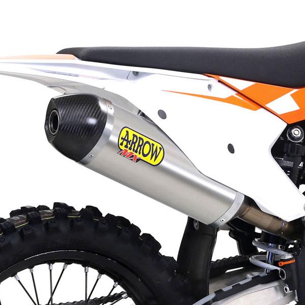 Arrow Terminale Off-road Race-tech Titanio Ktm Sxf 250 - 450 2016