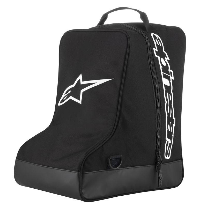 Alpinestars Tasche Stiefel schwarz weiss