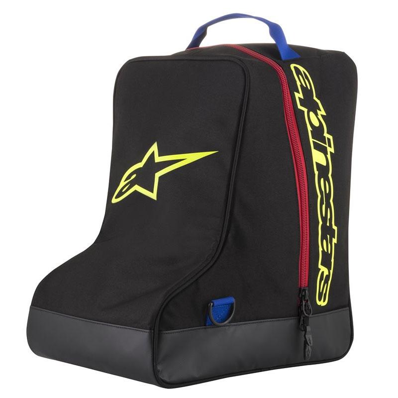 Alpinestars Tasche Stiefel schwarz blau