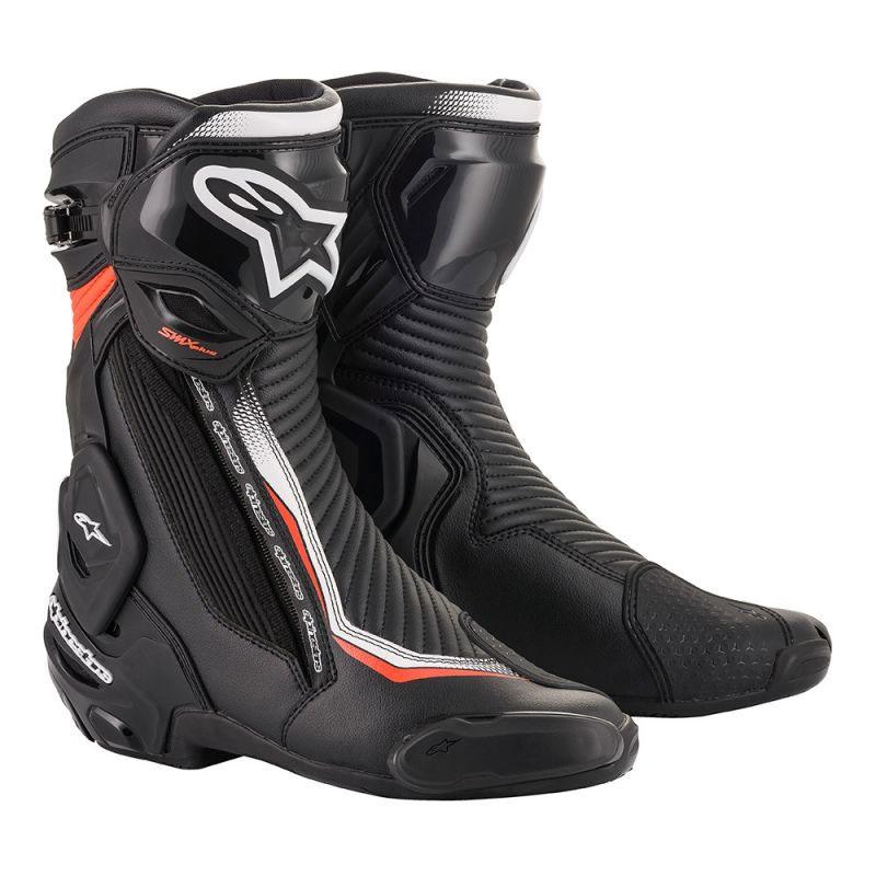 Alpinestars Smx Plus V2 Stiefel schwarz weiß rot
