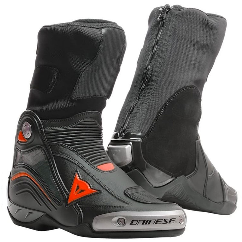 Dainese Stiefel Axial D1 schwarz fluo rot