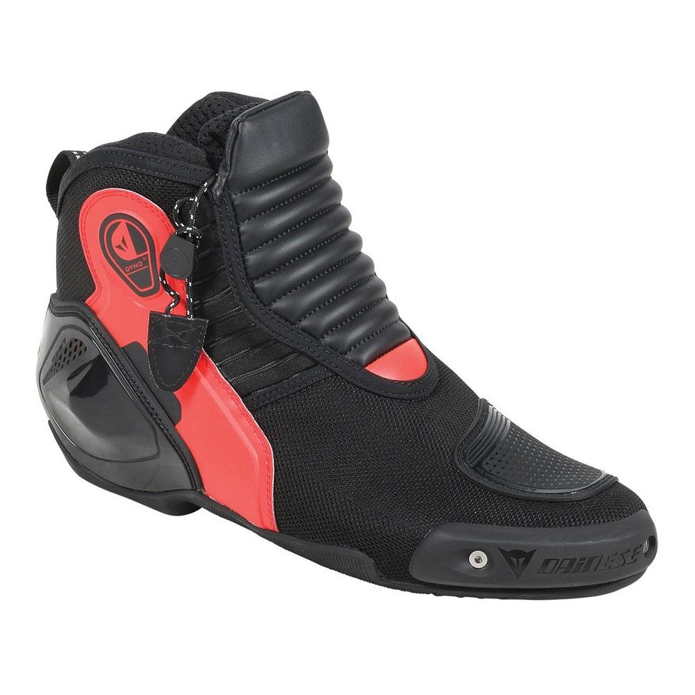 Dainese Dyno D1 Schuhe Schwarz Rot
