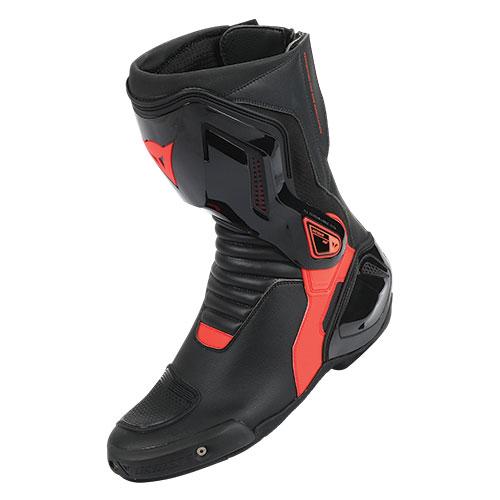 Dainese Nexus Stiefel Schwarz Rot