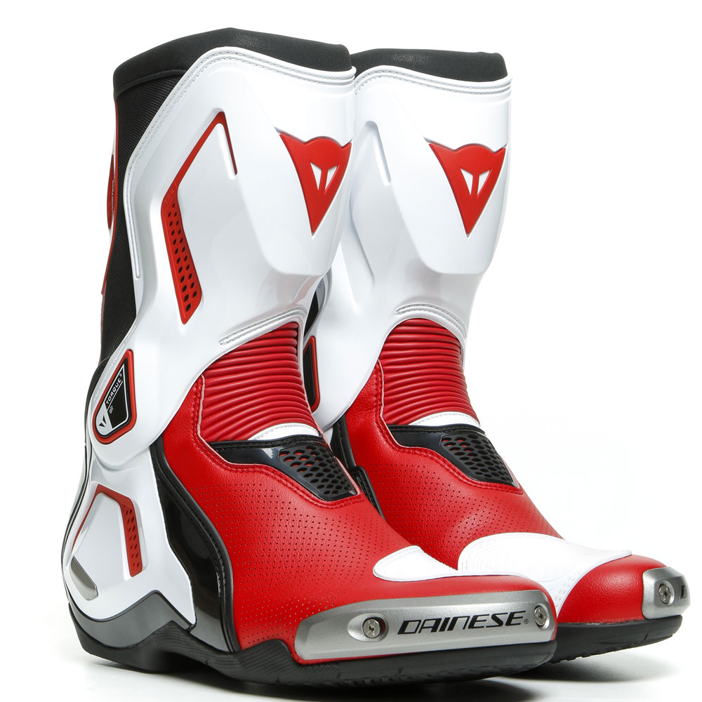 Dainese Torque 3 Out Air Boots White Lava Red