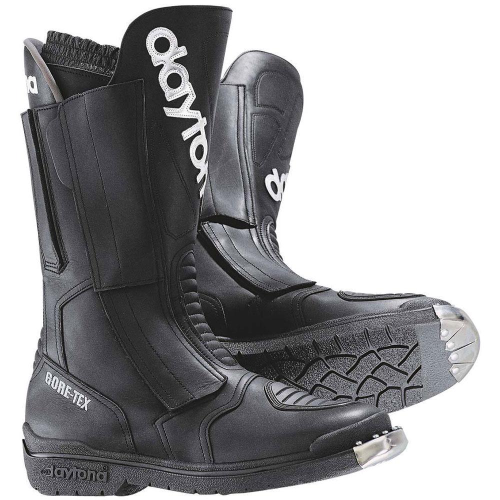 DAYTONA burdit XCR Moto Stivali Gore Tex impermeabile con chiusura in velcro