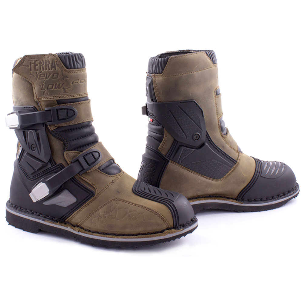 Motorcycle Boots Forma Terra Evo Low Brown