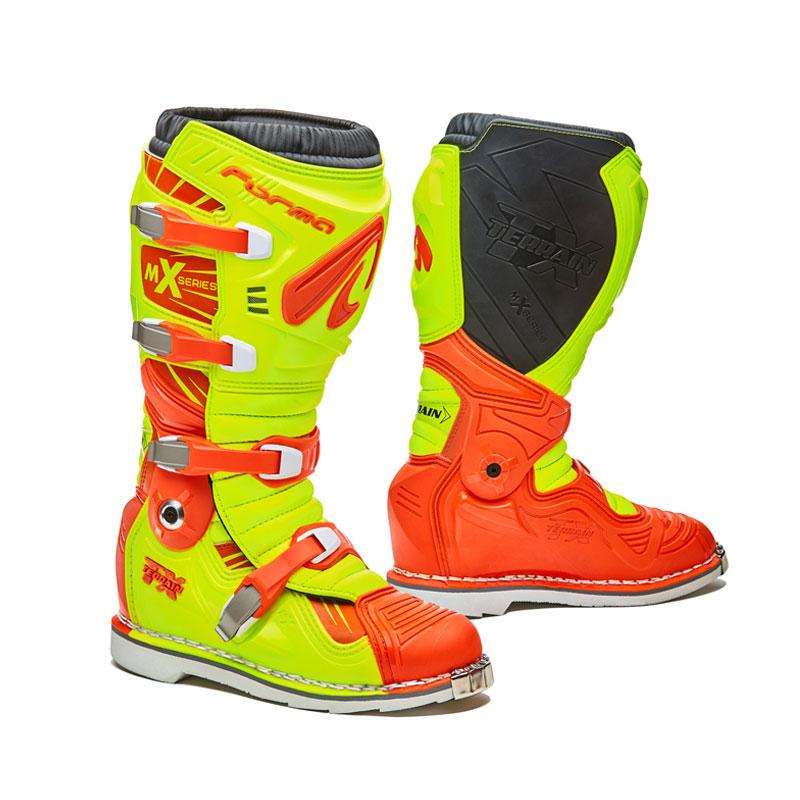 Motocross-Stiefel Forma Terrain Tx Gelb Orange