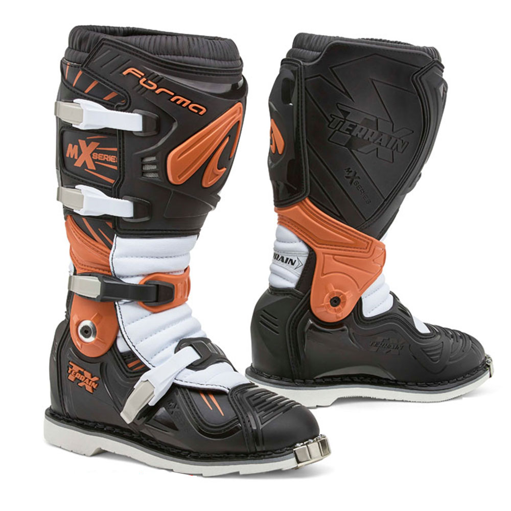 Forma Terrain Tx Boots Black Orange White