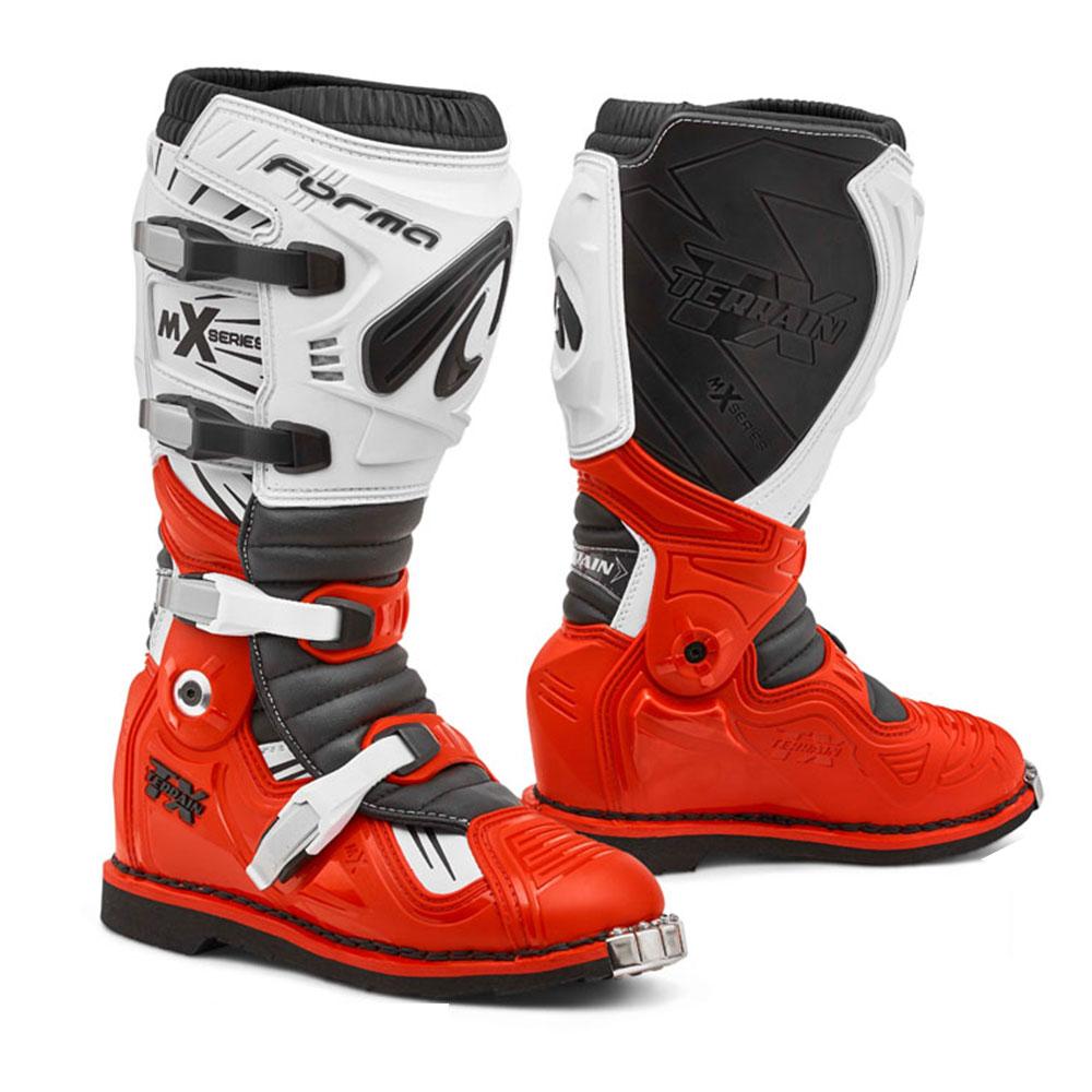 Stivali Forma Terrain Tx Rosso Bianco