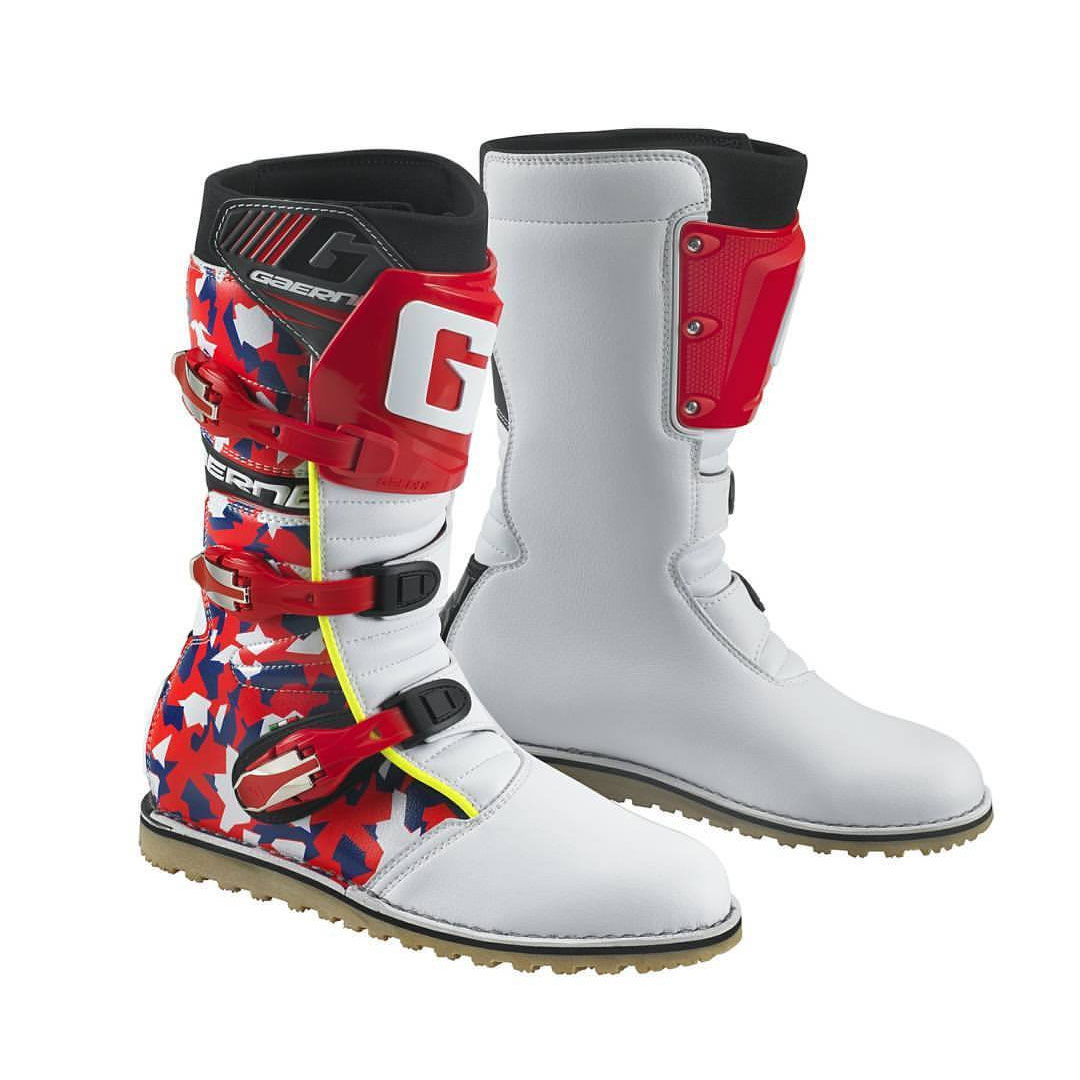Gaerne Balance Classic Camouflage Rosso