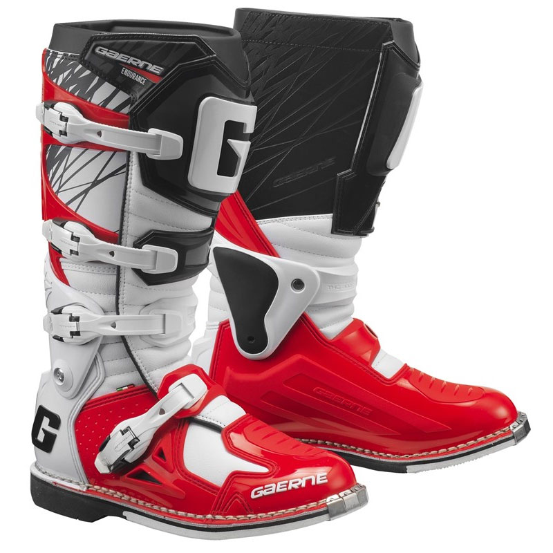 Gaerne Fastback endurance Mx off Road Stiefel rot