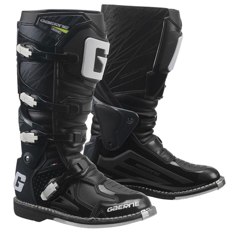 Gaerne Fastback endurance Mx off Road Enduro-Sohle Stiefel schwarz