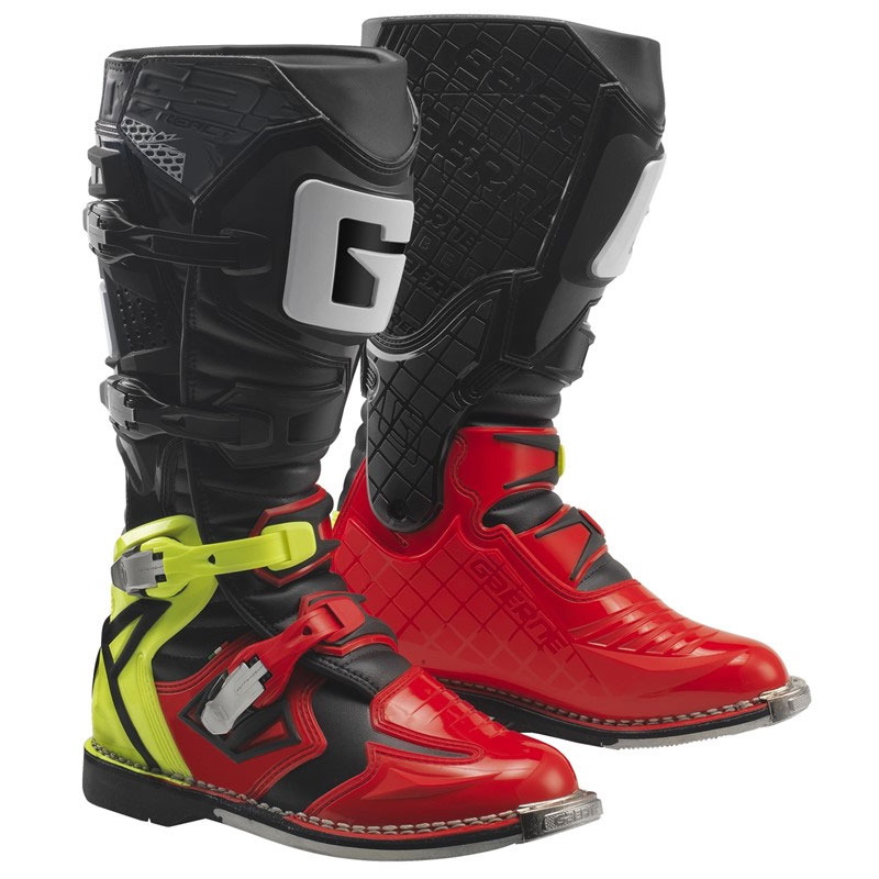 Gaerne G react Goodyear Mx Off Road Boots Red Yellow