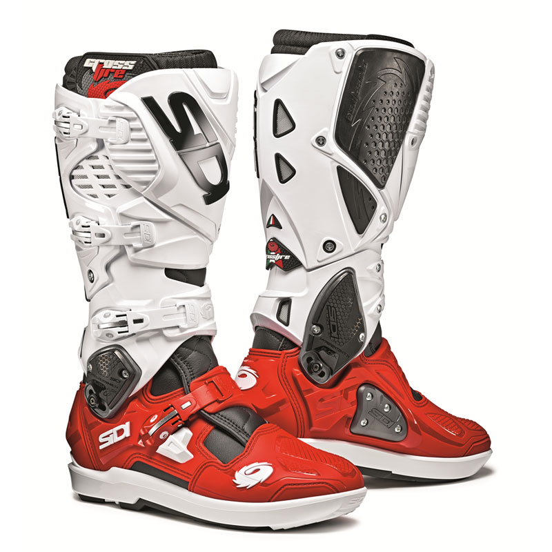 sidi crossfire 3 srs black white red motostorm. Black Bedroom Furniture Sets. Home Design Ideas