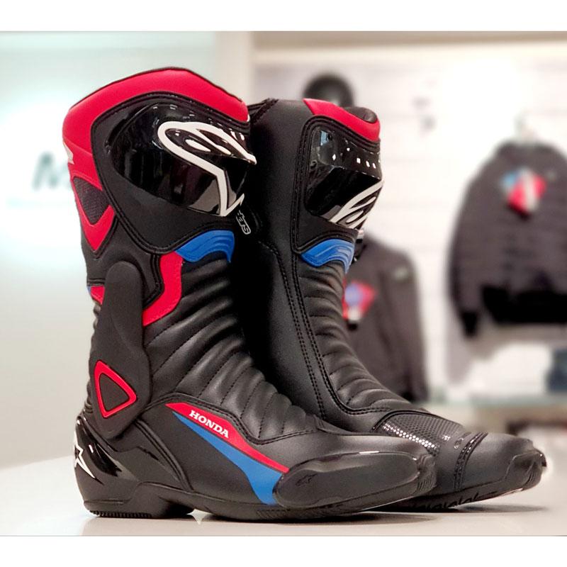 Stiefel SMX 6 V2, schwarz rot