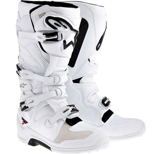 Alpinestars TECH 7 Stiefel weiß