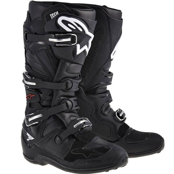 Alpinestars Tech 7 Stiefel schwarz