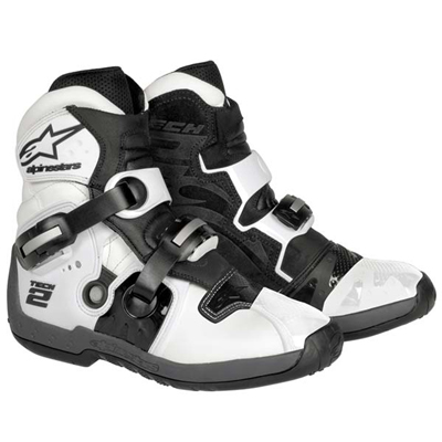 Alpinestars Tech 2 White - Motocross Boots